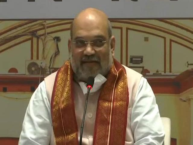 "Video : ""Mamata Banerjee's Rule Will End"":  Amit Shah In Bengal"
