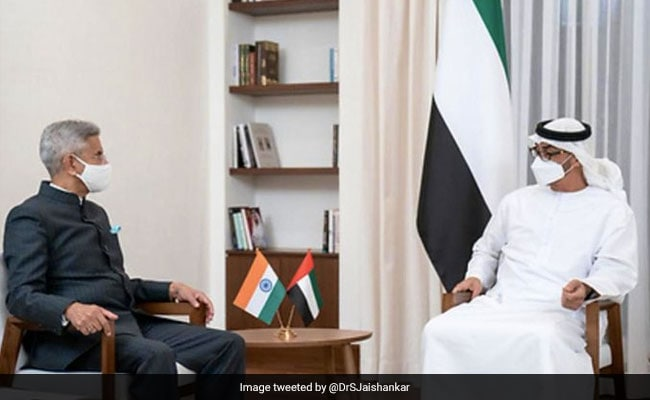Foreign Minister Meets Abu Dhabi Crown Prince, Discusses India-UAE Cooperation