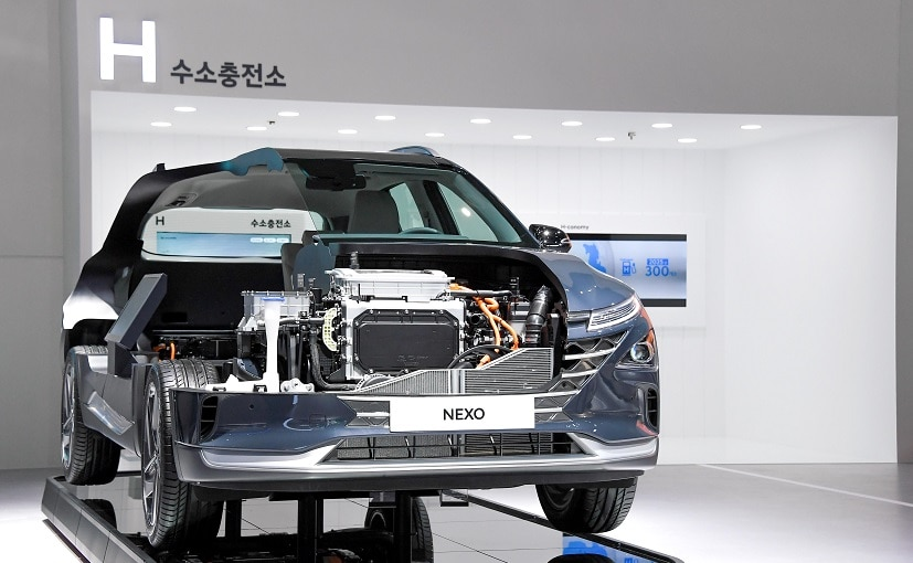 Hyundai started the world's first mass production of fuel cell electric vehicles in 2013