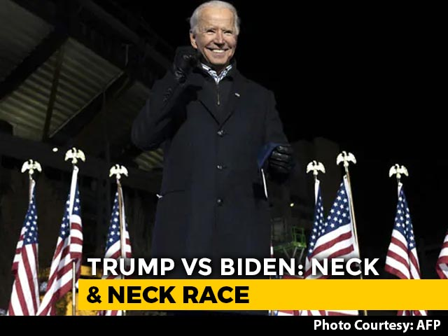 Video : Biden Wins Key States Wisconsin, Michigan, Trump Alleges Fraud