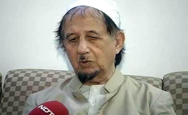 Muslim Cleric Maulana Kalbe Sadiq Dies In Lucknow At 83