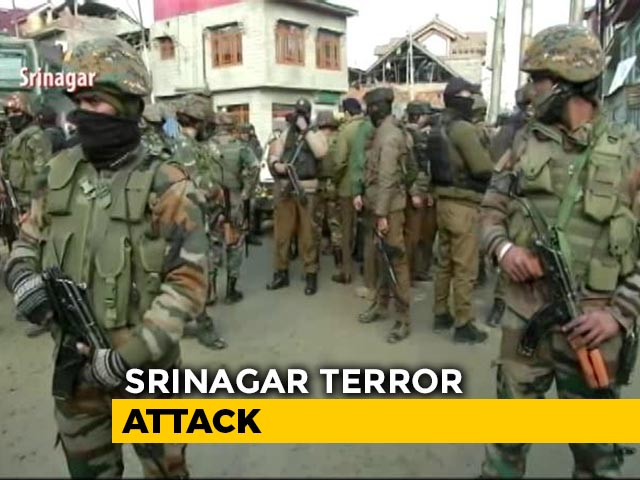 Video : 2 Soldiers Killed In Terror Attack On Army Patrol Near Srinagar
