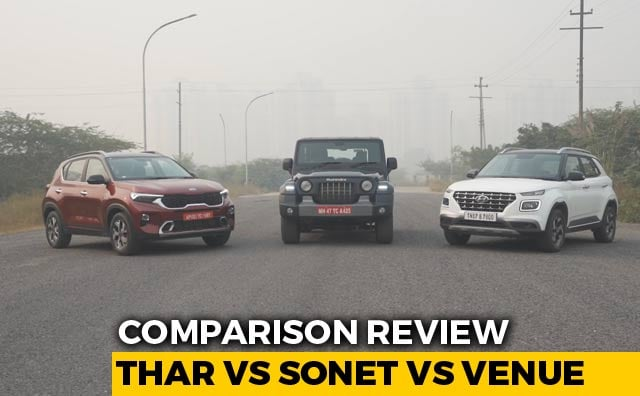 Thar vs Sonet vs Venue Comparison Review