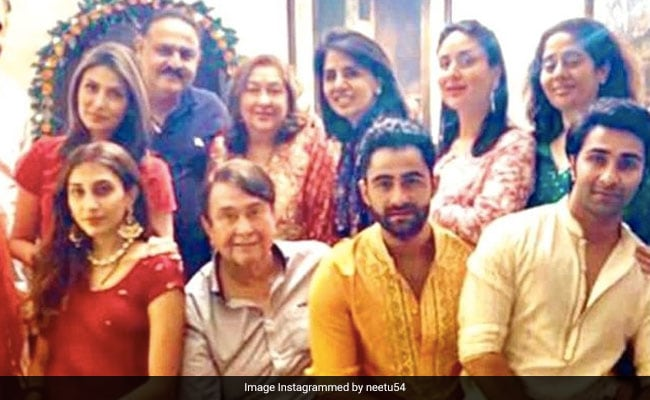 Neetu Kapoor, Missing Rishi Kapoor On Karwa Chauth, Shared This Post