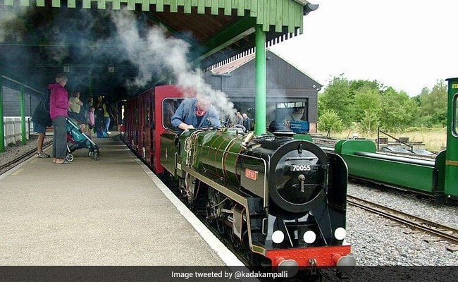 India's First Solar-Powered Miniature Train Launched In Kerala