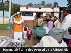 "Bihar Minister ""Doesn't Know National Anthem"": Opposition Shares Video"
