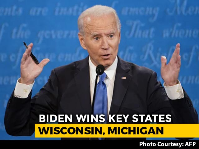 Video : After Key Biden Wins, Trump Sues In 3 States
