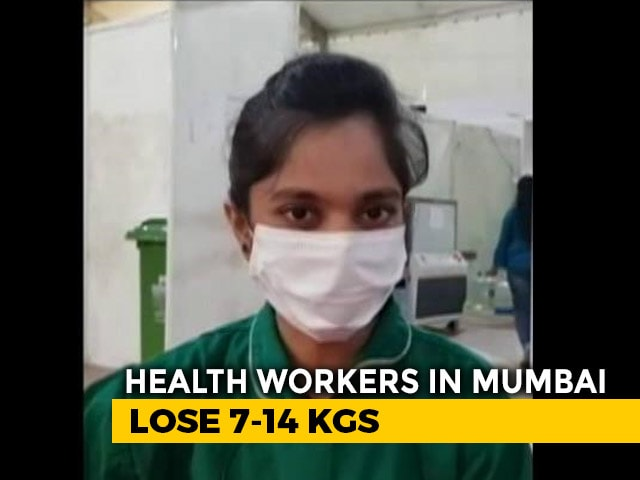 Video : Covid Healthcare Workers Suffer Weight Loss