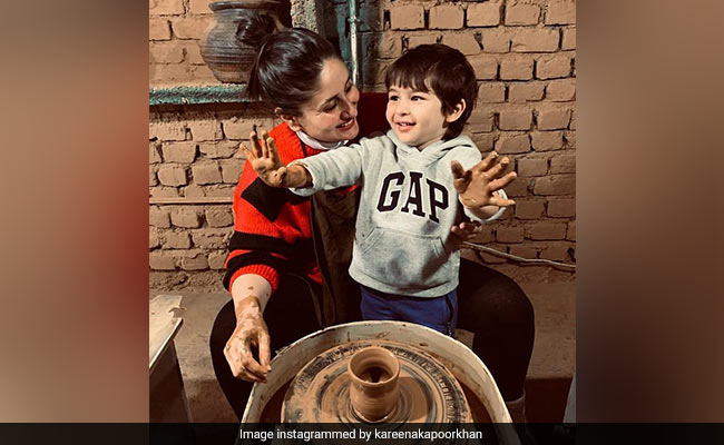 Taimur Ali Khan's Latest Pictures While Making Chocolates Are All Things Adorable (Pics Inside)