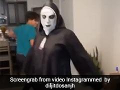 भूत बनकर शख्स ने हैलोवीन पर यूं किया जबरदस्त गिद्दा, दिलजीत दोसांझ ने शेयर किया Video
