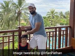 Irfan Pathan Arrives In Sri Lanka Ahead Of Lanka Premier League