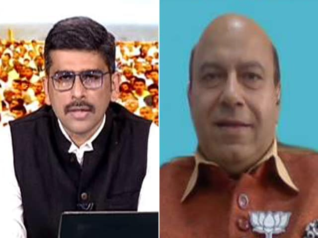 Video : Will Decide On Nitish Kumar When We Come To That Bridge: BJP's Vijay Jolly