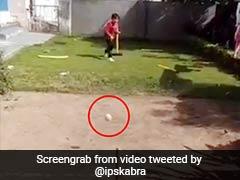 बच्चे ने डाली ऐसी खतरनाक गेंद, यॉर्कर मार तोड़ दिया स्टम्प, IPS बोला- 'बेबी बुमराह...' - देखें Video
