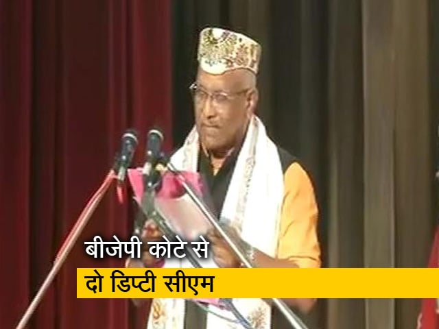 Videos : तारकिशोर प्रसाद और रेनू देवी ने ली उप मुख्यमंत्री पद की शपथ