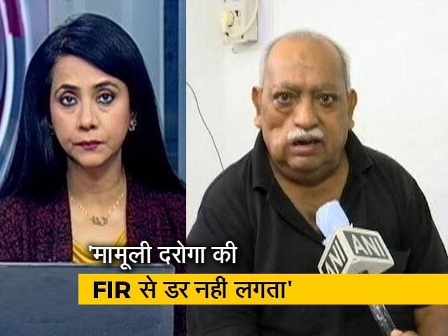 Videos : देस की बात : यूपी पुलिस ने शायर मुनव्वर राणा के खिलाफ दर्ज किया केस