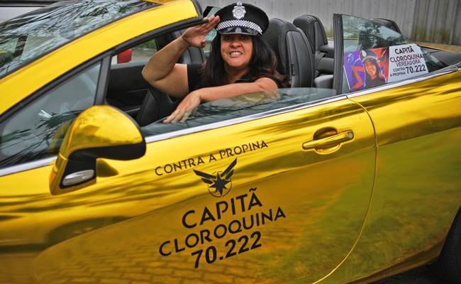 'Captain Chloroquine' Seeks Superhero Win In Brazil Local Elections