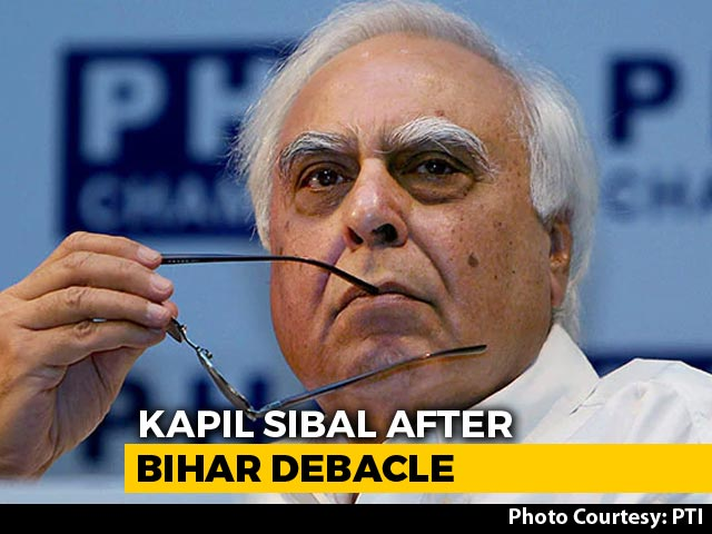 "Video : ""Maybe They Think All's Well"": Kapil Sibal vs Congress Again, After Polls"