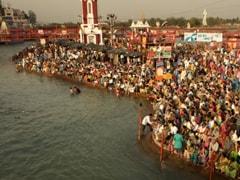 उत्तराखंड: चार साल बाद हरिद्वार में हर की पौड़ी पर हुई गंगा नदी की वापसी!