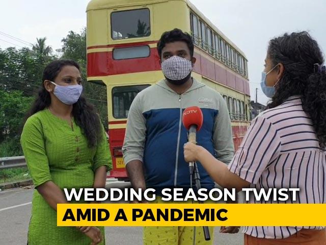 Video : Amid Pandemic, Couples Seek Unique Ways To Celebrate Wedding