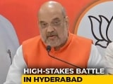 Video : After Yogi Adityanath, JP Nadda, BJP Unleashes Amit Shah In Hyderabad
