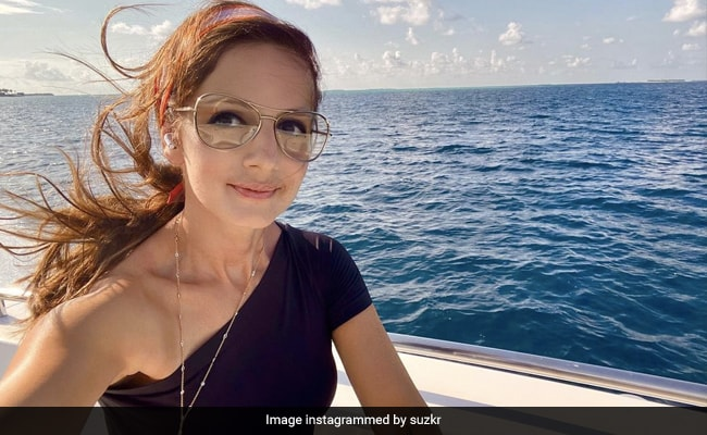 """Photo of Sussanne Khan Is An """"Island Girl"""" In This Stunning Pic"""