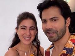 "Sara Ali Khan ""Knocks Out"" Varun Dhawan With Her <I>Dhanteras</i>-Special Joke"