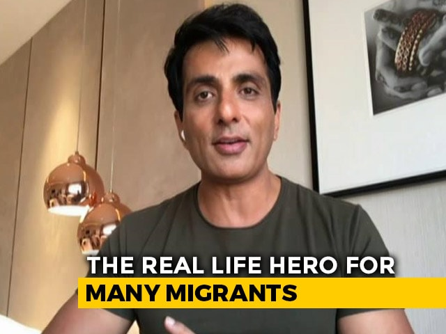 "Video : ""I Am No Messiah"": Actor Sonu Sood On Sending Migrants Home"