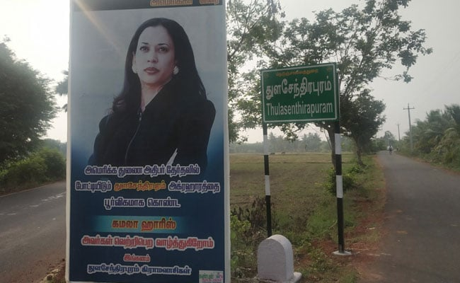 Kamala Harris's Grandfather's Village In Tamil Nadu Roots For Her Victory