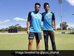 """Yuzvendra Chahal Reunited With """"Brother"""" Kuldeep Yadav"""