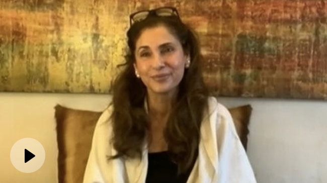 Video | I Was 90% Sure That I Won't Be Selected for Tenet: Dimple Kapadia