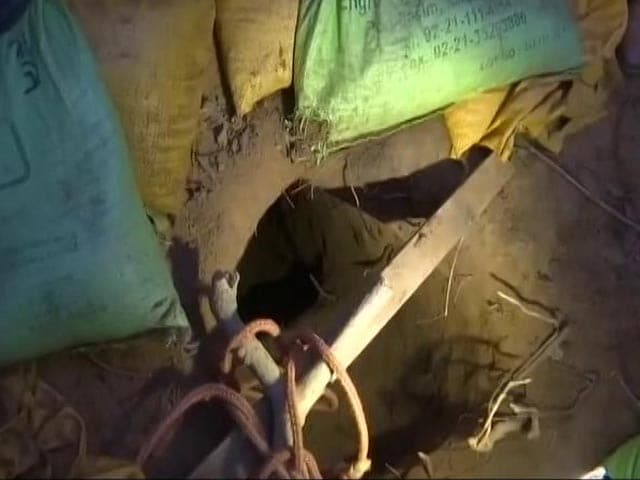 Video : Days After Fierce Encounter, Tunnel Used By Terrorists Found In J&K