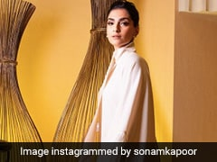 All It Truly Takes Sonam Kapoor To Be A Happy Girl Is Some Tassels And Sparkle