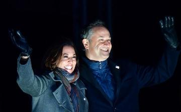 Vice President Elect Kamala Harris Husband Douglas Emhoff America S First Second Gentleman