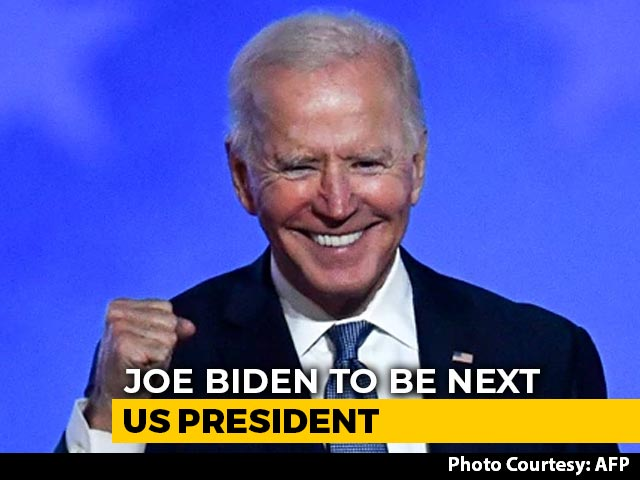 Video : Joe Biden Declared 46th US President After Pennsylvania Win