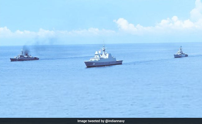 India, Thailand, Singapore Take Part In Naval Drill In Andaman Sea. Watch