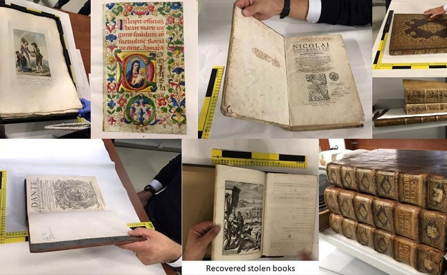 Rare Books Stolen By 'Mission: Impossible' Gang Returned To Owner