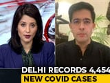 "Video : ""We Don't Believe In Intermittent Lockdown, Night Curfews"": AAP's Raghav Chadha"
