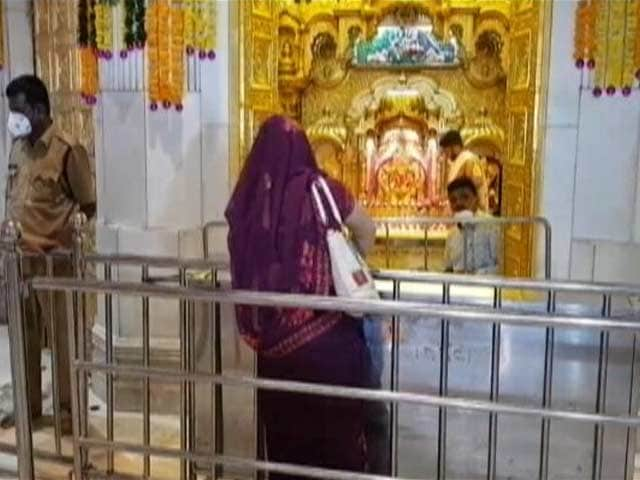 Video: Temples, Other Religious Places Reopen In Maharashtra