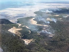 Australia Bush Fire Rips Through Heritage-Listed Island