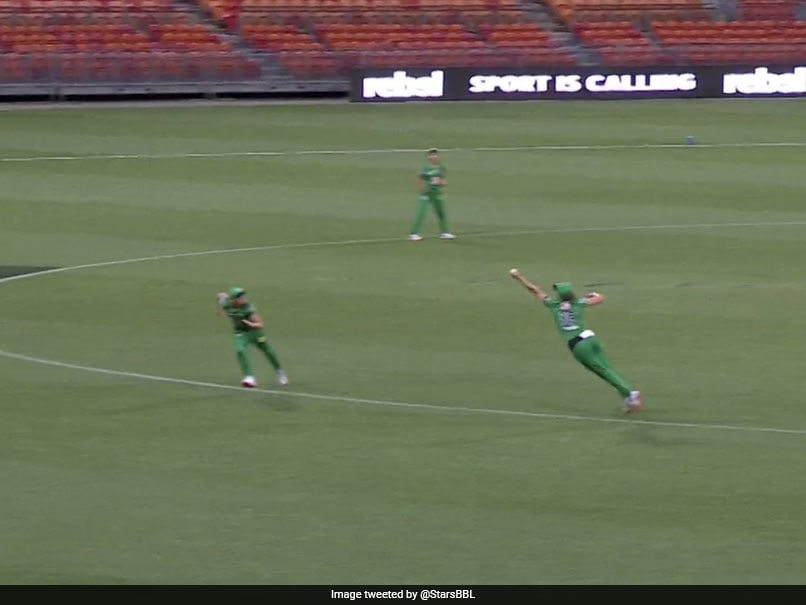 """WBBL 2020: Melbourne Stars Nat Sciver Pulls Off """"Out Of This World"""" One-Handed Catch. Watch"""