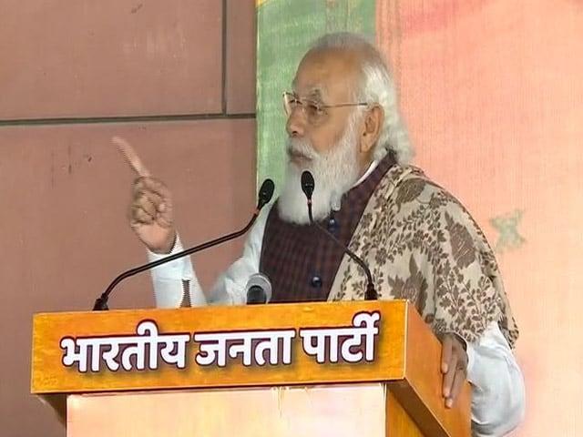 Video: 'Good Governance' Reason Behind BJP's Success, Says PM Modi