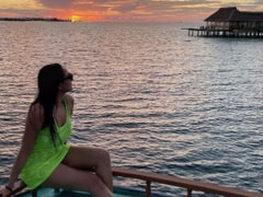 Oh, Nothing. Just A Sunset In The Maldives, Courtesy Sonakshi Sinha