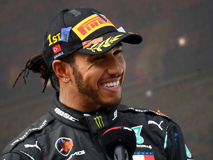 Hamilton's closest rival Vettel has lauded the Brit as the greatest driver of his era