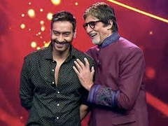 Ajay Devgn To Direct Amitabh Bachchan In New Film Titled <I>Mayday</i>. Details Here