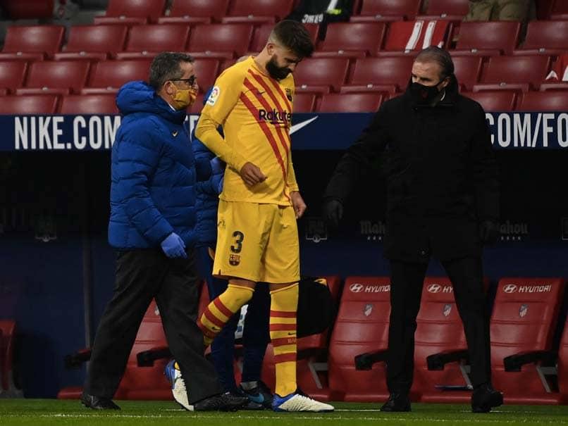 ضربه ای برای بارسلونا به دلیل تأیید آسیب دیدگی زانوی جرارد پیکه
