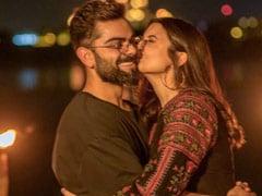 The Perfect End To Virat Kohli's Birthday - A Kiss From Anushka Sharma
