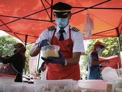 "Grounded Amid Covid, This Pilot Opened ""Captain's Corner"" Food Stall"