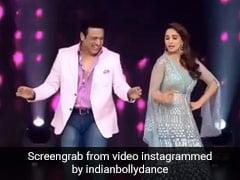 Madhuri Dixit ने Govinda के साथ 'मखना' सॉन्ग पर यूं किया जबरदस्त डांस, Video ने मचा दी धूम