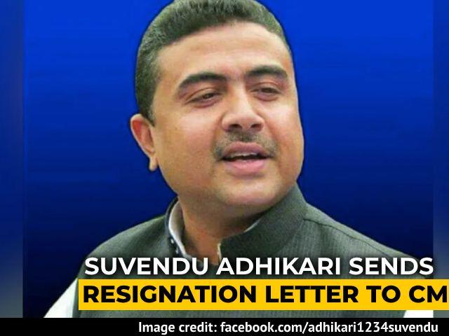 "Video : Rebel Trinamool Minister Suvendu Adhikari Quits, BJP says ""Welcome"""