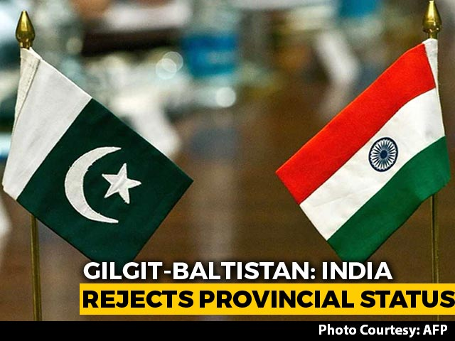 Video : Pak Move On Gilgit-Baltistan Attempt To Hide Illegal Occupation: India